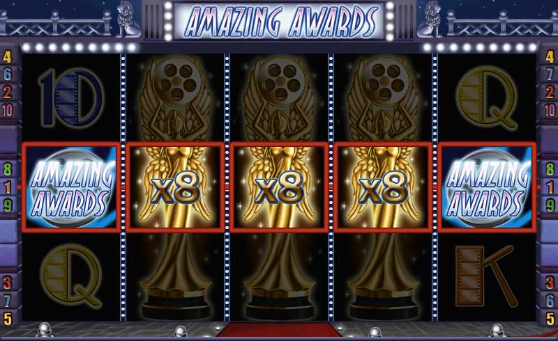 Amazing Awards Spielautomaten slot game