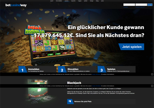 Casino Bewertungen: Betway Casino